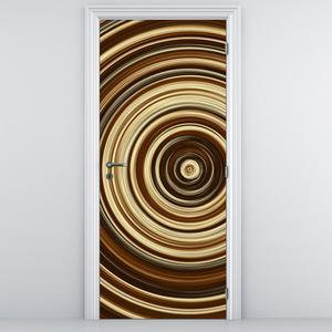 Fotótapéta ajtóra - körök (D010982D95205)