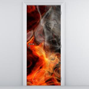 Fototapeta na dvere - dym (D010985D95205)