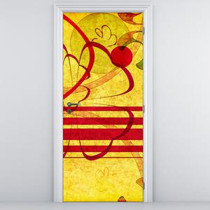 Fototapeta na dveře - abstrakce (D011005D95205)