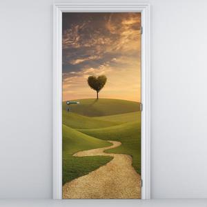 Foto tapeta na vratih - pokrajina in travniki (D011341D95205)