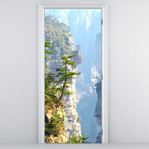 Foto tapeta na vratih - skale (D011348D95205)