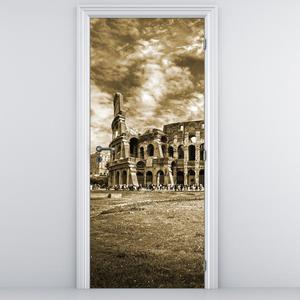 Foto tapeta na vratih - Kolosej (D011354D95205)