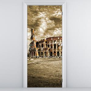 Foto tapeta na vratih - Kolosej (D011355D95205)