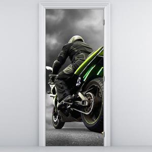 Fototapeta pentru ușă - motocicleta (D011383D95205)