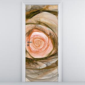 Fototapeta na dvere - ružový kvet (D011481D95205)