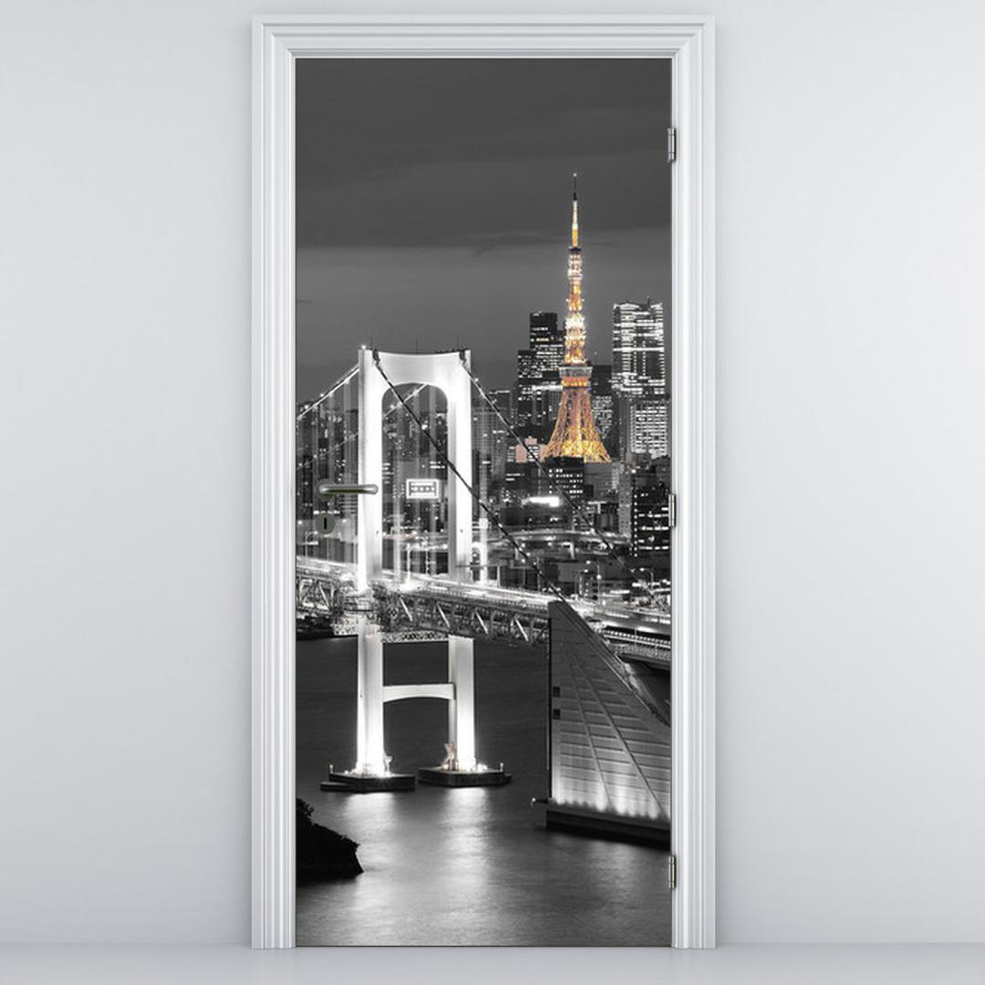 Fototapeta na dvere - most v Tokiu (D011529D95205)