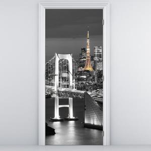 Fototapeta na dveře - most v Tokiu (D011529D95205)
