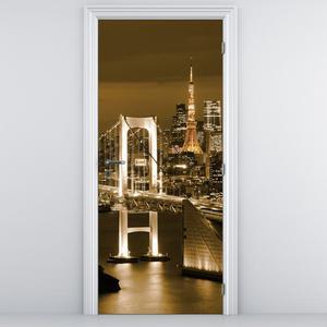 Fototapeta na dvere - most v Tokiu (D011530D95205)