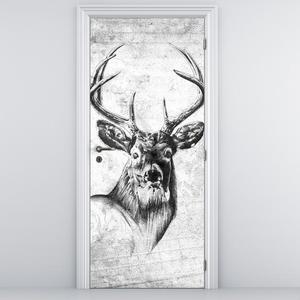 Fotótapéta ajtóra - szarvas (D011943D95205)