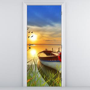 Foto tapeta na vratih - Ladjica (D012049D95205)