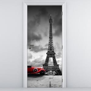 Fototapeta na dvere - Eiffelova veža (D012082D95205)