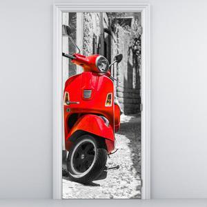 Fototapeta pentru ușă - scuter (D012132D95205)