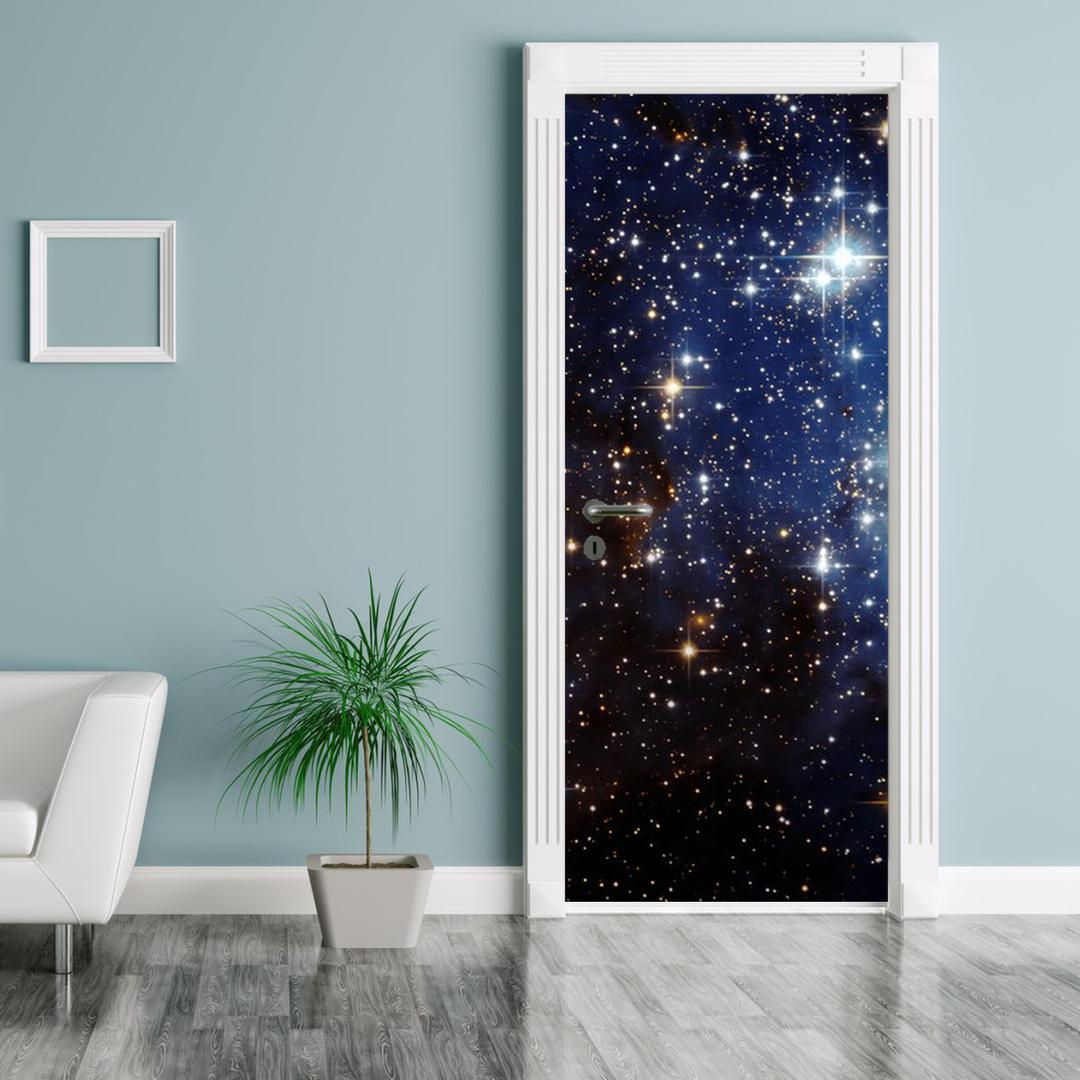 Foto tapeta za vrata - Zvijezdano nebo (D012177D95205)