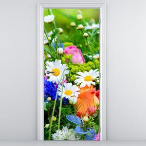 Fotótapéta ajtóra - Virágok (D012220D95205)