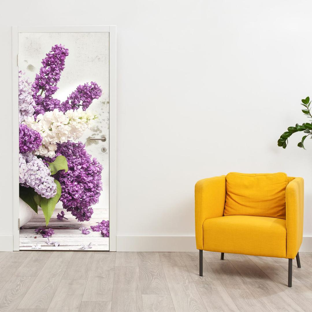 Foto tapeta za vrata - Cvijeće (D012224D95205)
