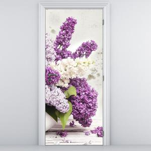 Fotótapéta ajtóra - Virágok (D012224D95205)