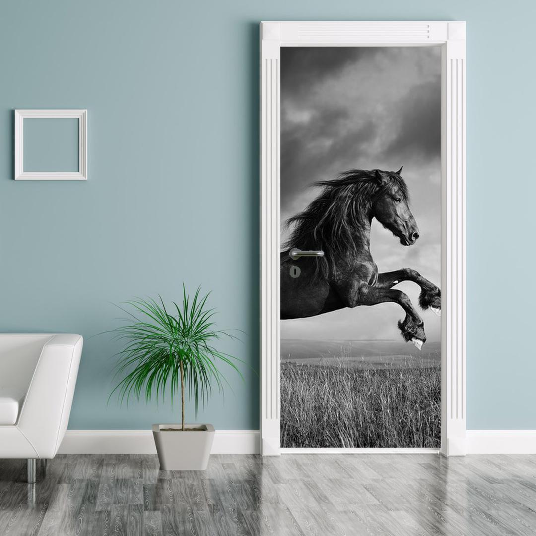 Foto tapeta za vrata - Konj (D012248D95205)