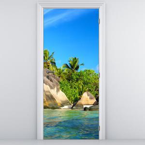 Foto tapeta na vratih - Sejšeli (D012416D95205)