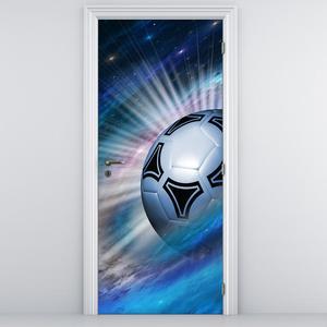 Fototapeta pentru ușă - mingea de fotbal (D012478D95205)
