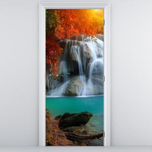Foto tapeta na vratih - Lepa pokrajina (D012507D95205)
