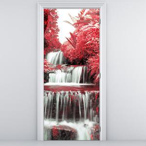 Fototapeta na dvere - Ker s vodopádom (D012539D95205)