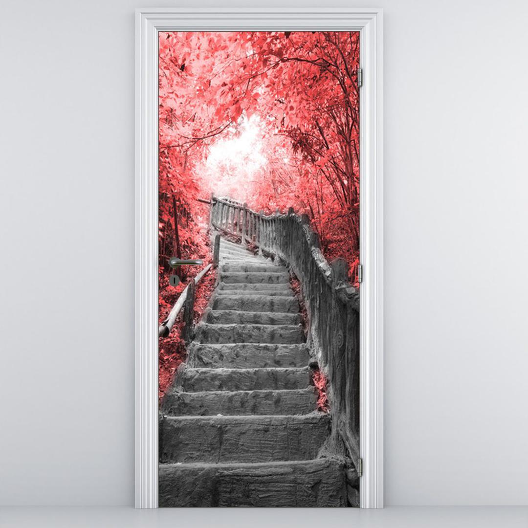 Fototapeta na dveře - Schody (D013342D95205)