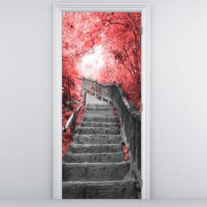 Fototapeta na dvere - Schody (D013342D95205)