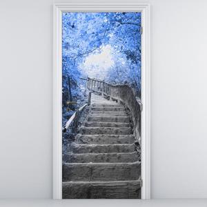 Fototapeta na dveře - Schody (D013343D95205)