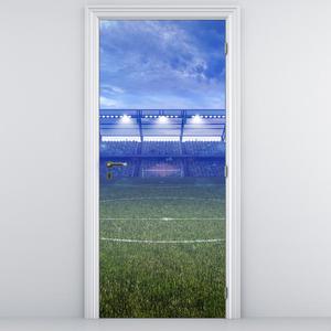 Fototapeta pentru ușă - stadionul de fotbal (D013874D95205)