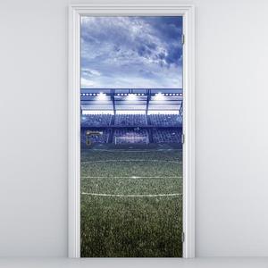 Fototapeta pentru ușă - stadionul de fotbal (D013875D95205)