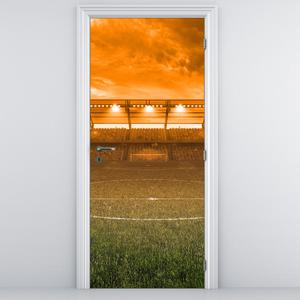 Fototapeta pentru ușă - stadionul de fotbal (D013963D95205)