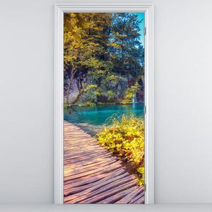 Fototapeta pentru ușă - lacul Plitvice (D014693D95205)