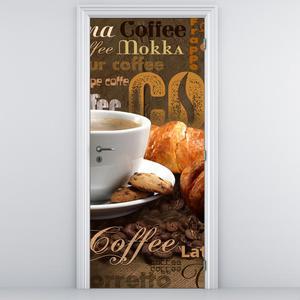 Fototapeta pentru ușă - ceașca cu cafea (D014704D95205)