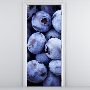 Fototapeta na dveře - Borůvky (D014779D95205)
