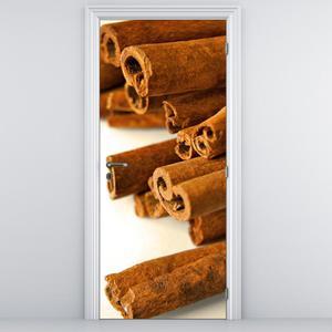 Fototapeta na dveře - Skořice (D014781D95205)