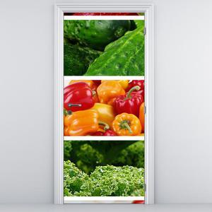 Fototapeta na dveře - Zelenina (D014787D95205)
