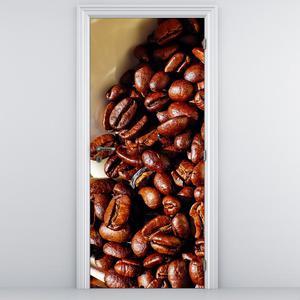 Fototapeta na dveře - Zrnková káva (D014788D95205)