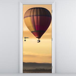 Fototapeta na dveře - Létající balón (D014802D95205)