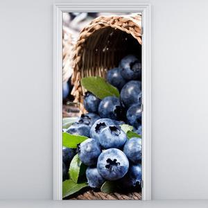 Fototapeta na dveře - Borůvky (D014805D95205)