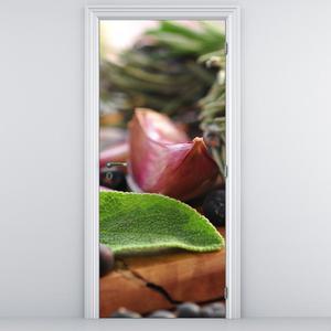 Fototapeta na dveře - Česnek (D014806D95205)
