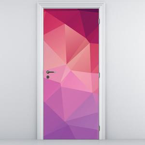 Fotótapéta ajtóra - szines absztrakció (D014818D95205)