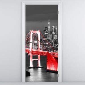 Fototapeta na dveře - most v Tokiu (D015030D95205)