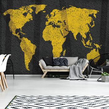 Fototapeta - Mapa světa (T030036T254184A)