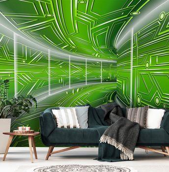 Fototapet - Coridor verde (T030079T368280A)