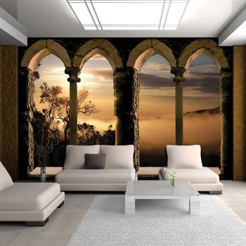 Fototapeta - Rímske okná (T030136T368280A)