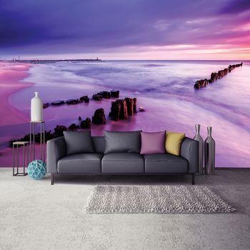 Fototapeta - Pobrežie - fialové (T030232T254184A)