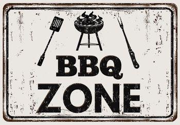 Fototapet - BBQ Zone - inscripție (T030254T368280A)