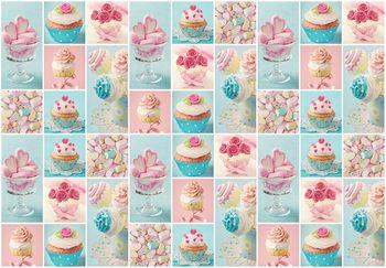 Fototapeta - Farebné košíčky a sušienky (T030326T368280A)