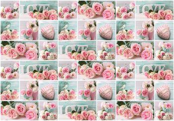 Fototapet - Dragostea în roz (T030343T368280A)