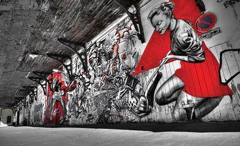 Fototapet - Graffitti expresiv (T030365T254184A)